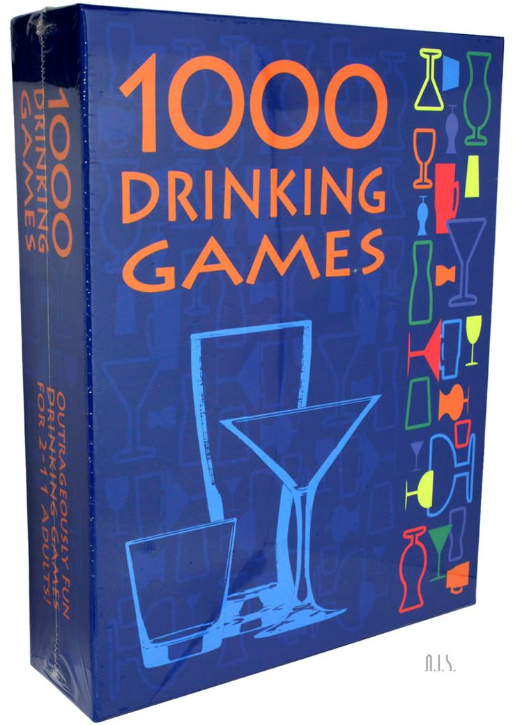 1000 Drinking Games - 1,000 Drinking Games combines rounds of classic and new drinking games with off-the-wall plot twists and a variety of drink assignments. This set includes all of the popular drinking concepts: dice games, card games, word games, tongue twisters, spinner games, categories, ranking-based games, etc. Players can enjoy their favorite games over and over or learn a new game each time they play! Includes: 10 Game Concept Cards, 10 Plot Twist Cards, 10 Next Round Cards, 1…