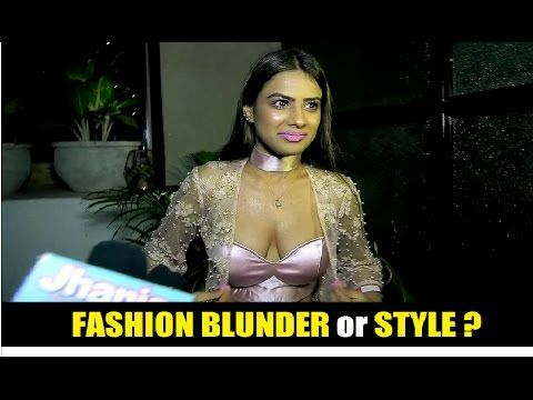 Nia Sharma's Dress | Fashion Blunder / Disaster or Style ? (18+) Click to see video >>> https://youtu.be/WK23OUn_AtY #niasharma #bollywood #bollywoodnews #bollywoodnewsvilla #fashion #fashionblunder