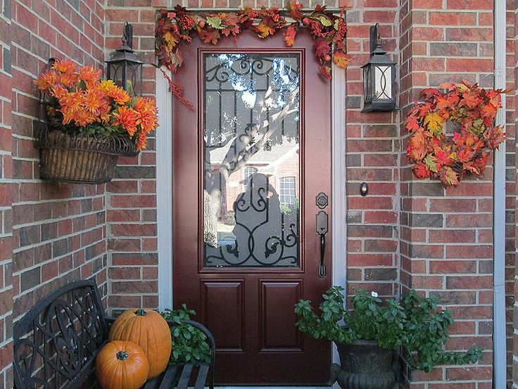 17 best ideas about thanksgiving decorations outdoor on for Idea deco guijarro exterior