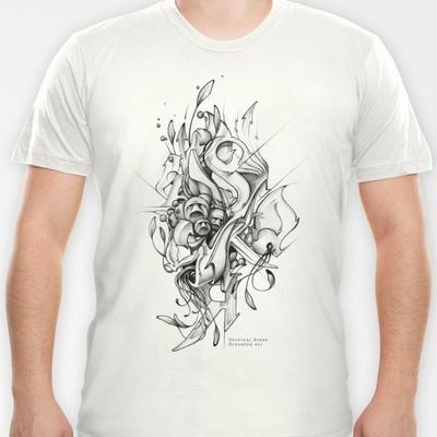 t-shirt illustration by Asker.  BUY IT on society6.com/originalasker $18.00