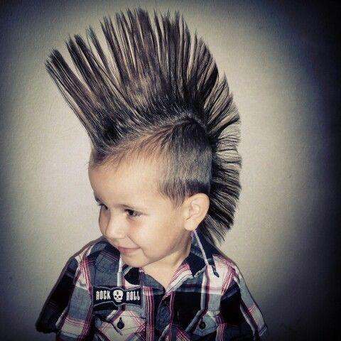 1000 Ideas About Little Boy Mohawk On Pinterest Haircut