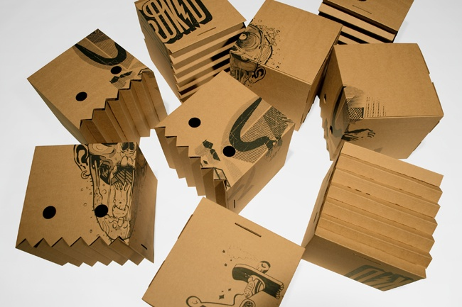 coolMagic Boxes, Creative Packaging Design, Andreu Zaragoza, Herokid, Tshirt Packaging, Graphics Design, Packaging Inspiration, Amazing Packaging, T Shirts Packaging