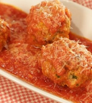 MARIO BATALI Sicilian Meatballs - Chew Recipes