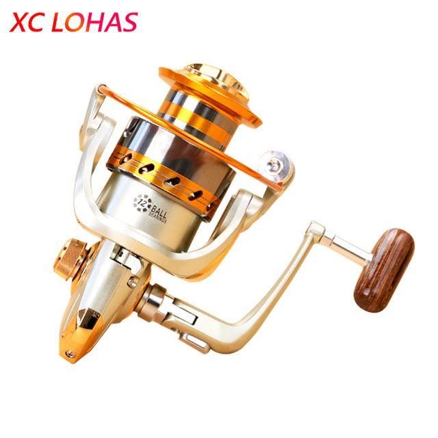 . Most Cost-effective Metal Spinning Fishing Reel EF1000 2000 3000 4000 5000 6000 7000 Baitcasting Fishing Reel Sea Fishing Tackle Details and De