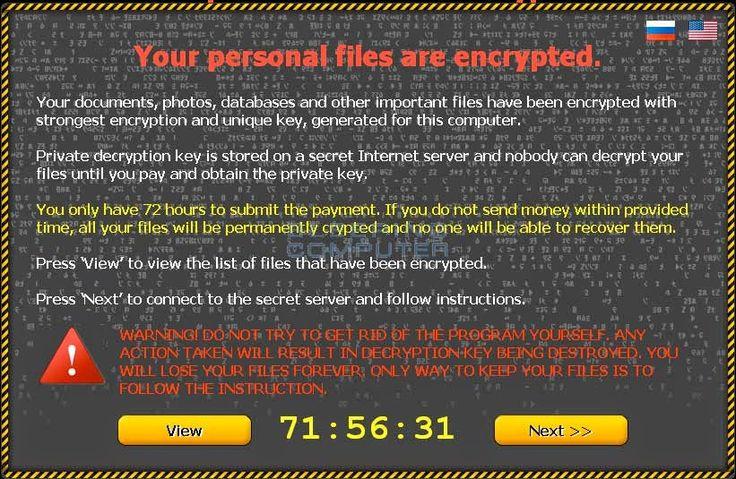 Sotecpro Soporte Técnico Profesional: Cómo restaurar archivos cifrados o dañados por el ...