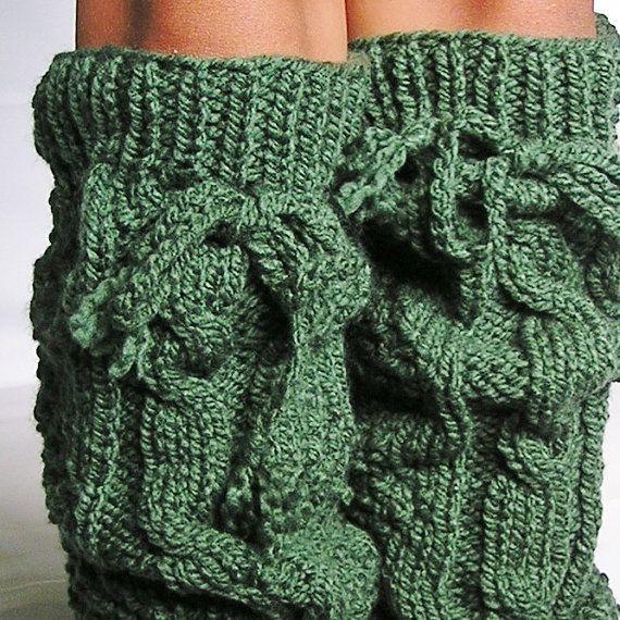 chunky leg warmers...loveCrafts Ideas, Knee Stockings, Fuzzy Things, Cozy Fuzzy, Legs Warmers Lov, Chunky Legs, Crochet Pattern, Comfy Cozy, Knits
