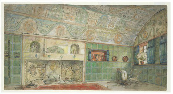 Design for a room | Lethaby, William Richard | V Search the Collections