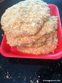 Bistec Empanado (Breaded Cube Steak)   Ingredientes 4 filetes de biftec 1 cucharadita de cebolla en polvo 2 Cucharadas de vinagre blanc...