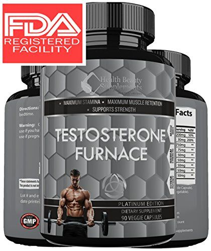 * MUSCLE PHASE TESTOSTERONE FURNACE * Hormone Boost - Roc...