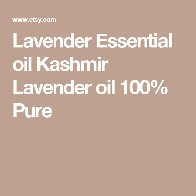 Lavender Essential oil Kashmir Lavender oil 100% Pure