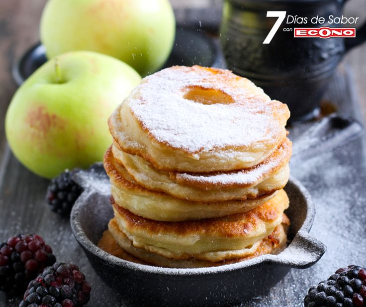 Sábado+-+Manzanas+fritas+en+masa+de+especias+-+7+días+de+Sabor+con+ECONO