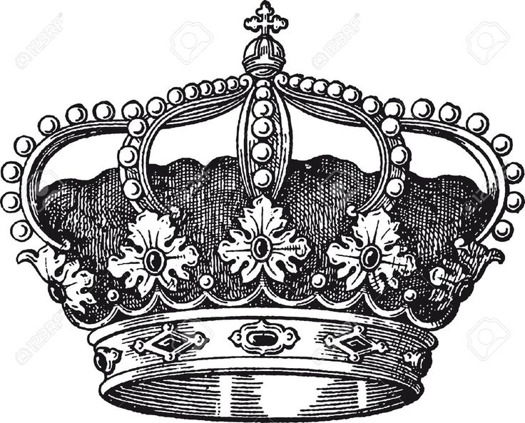 Queen Crown Sketch Best 25+ Queen crown t...