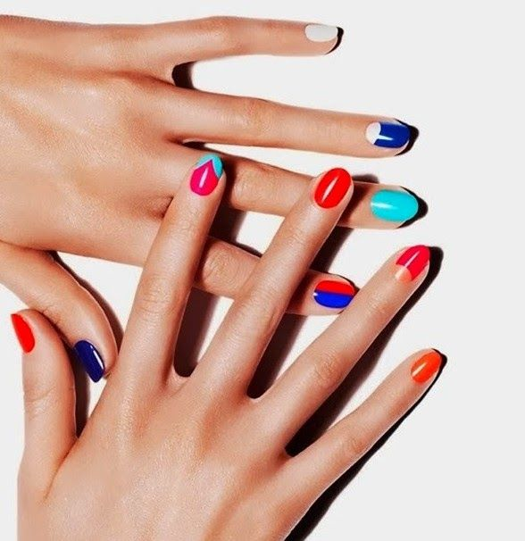 Nail Color Etiquette: 25 Best Bluesky Nails Images On Pinterest
