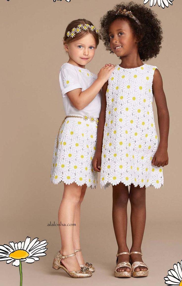 ALALOSHA: VOGUE ENFANTS: Daisy dream the new SS16 from Dolce&Gabbana