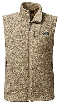The North Face Gordon Lyons Mock Neck Full-Zip Heavyweight Sweater Knit Fleece Vest