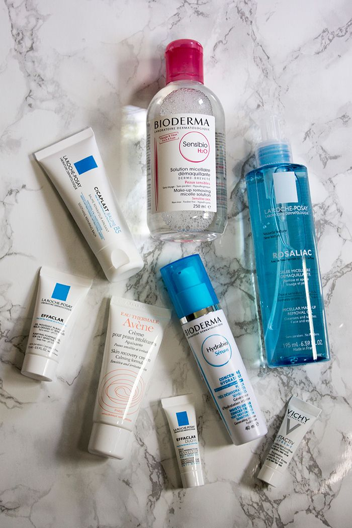 Escentual French Pharmacy Sale Haul: La Roche-Posay, Bioderma & Avene