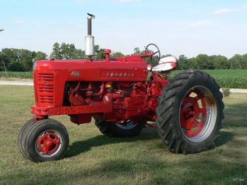 Farmall 400 Tractor : Google image result for http oldtractorpictures