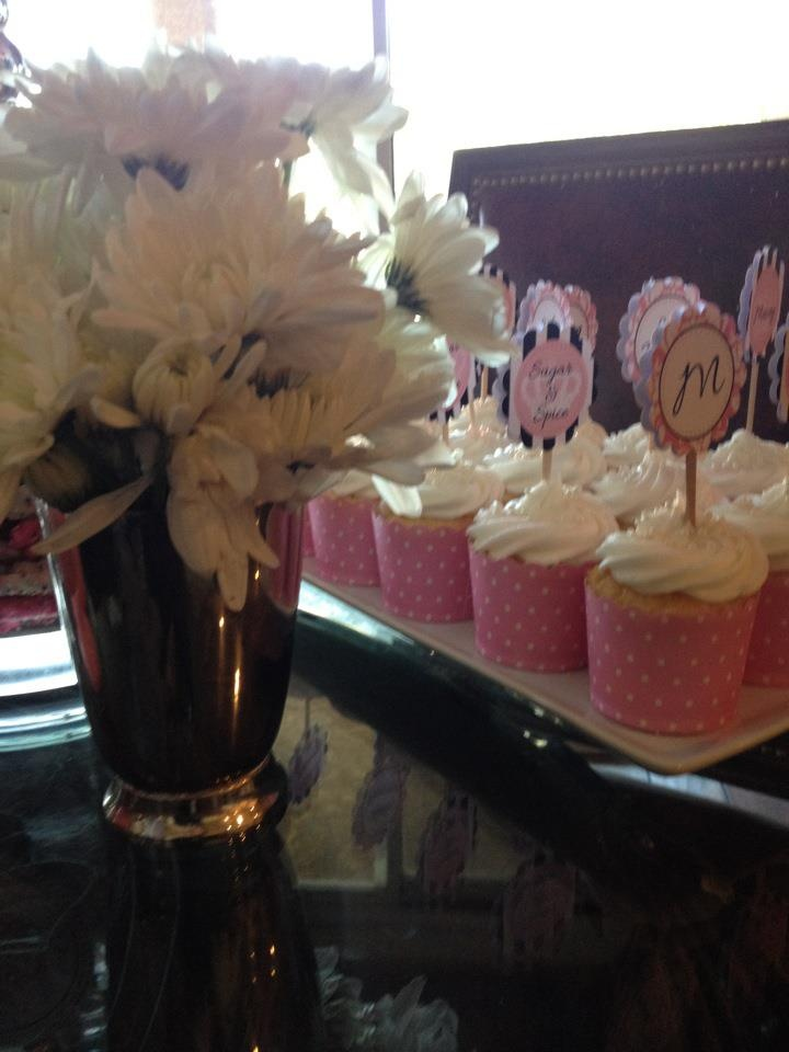 Sugar and spice and everything nice...and sweet little pink cupcakes!