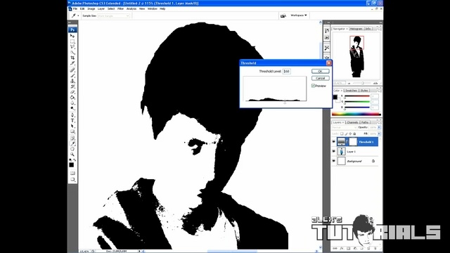 how to make your picture black and white in photoshop