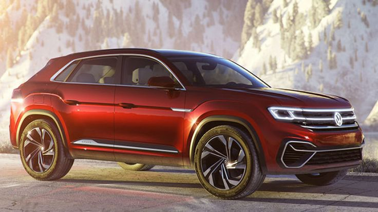 VW Atlas Sport Concept previews new fiveseat crossover