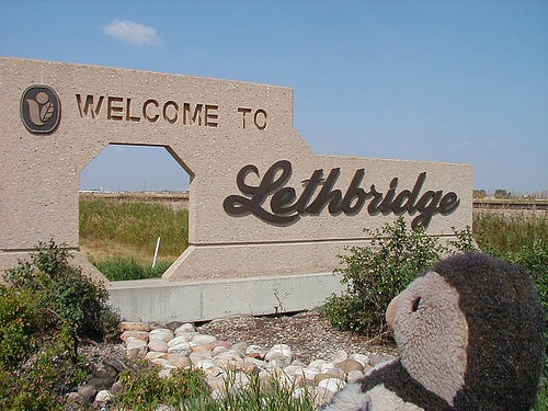 Lethbridge Alberta Canada. Spent a bit of time here. Loved it!!!