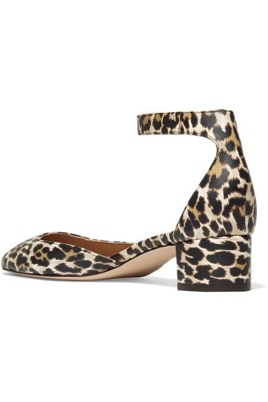 J.Crew - Evelyn Leopard-print Leather Pumps - Leopard print - US10.5