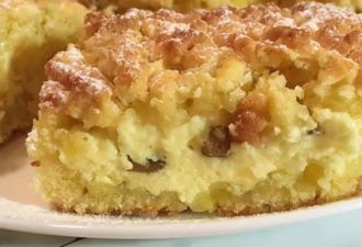 Песочный пирог с творогом: необыкновенно вкусный - be1issimo.ru