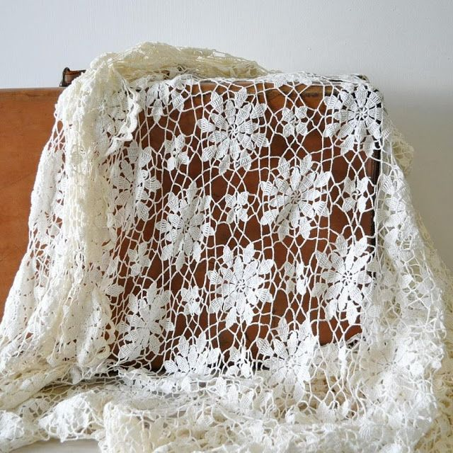 Crochet Patterns: Crochet Free Pattern Of Queen Anne's Lace Motif