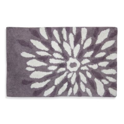 Update Your Bath With This Delightful Flower Power Rug By
