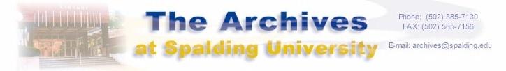 Spalding University Archives website