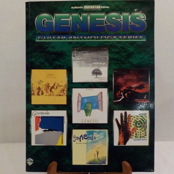 Genesis Guitar Anthology Series Guitar Tab Music Book