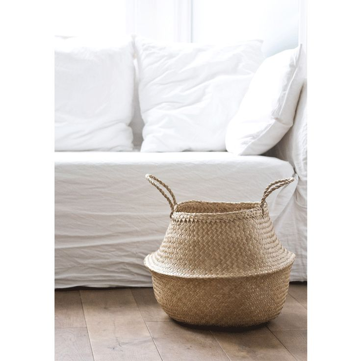 BLOOMINGVILLE - FOLDING SEAGRASS BELLY BASKETS
