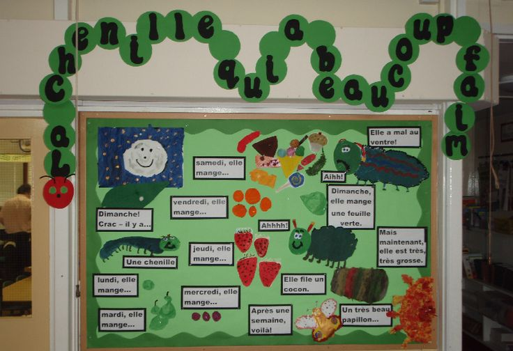 French Hungry Caterpillar classroom display photo - Photo gallery - SparkleBox