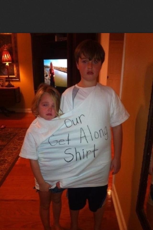 Solution to sibling rivalry