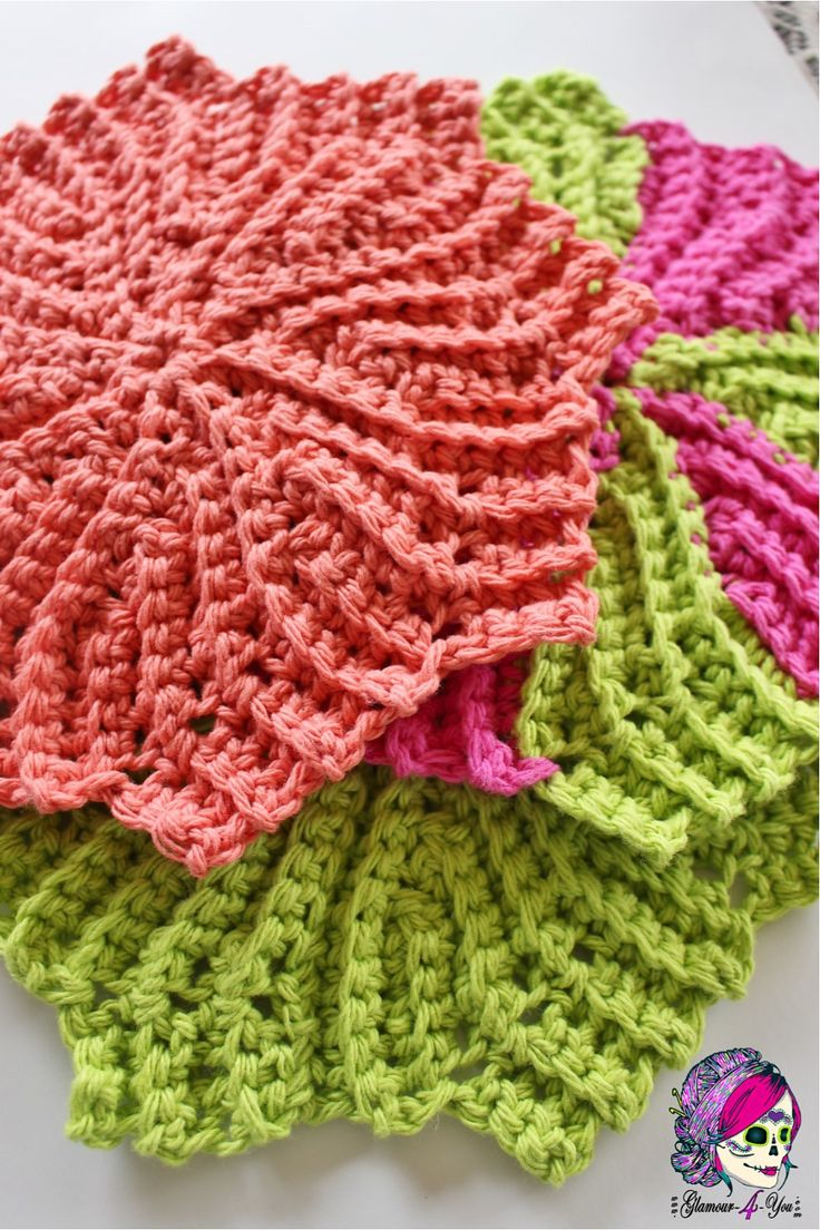 ... about crochet washcloths on Pinterest Yarns, Ravelry and Patterns