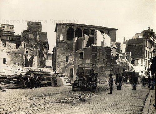 Casa Cavalieri di Rodi, demolizioni in Via Alessandrina Anno: 1930 'ca