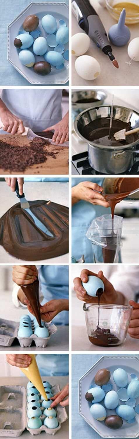 Huevos de chocolate                                                                                                                                                                                 Más