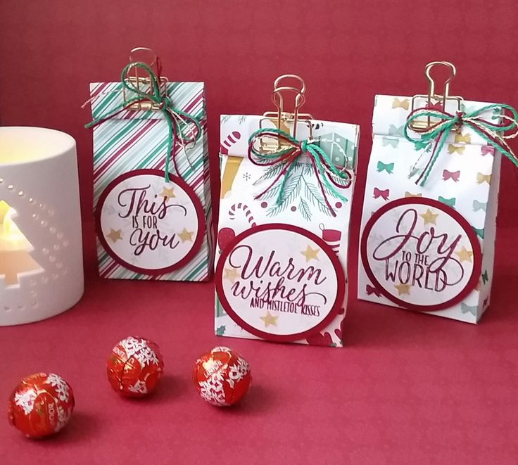 Stampin' Up! Demonstrator stampwithpeg – Christmas Craft Fair Treat Bags : Presents & Pinecones meets Tin of Tags! with Instructions. I have got an extra craft fair to prepare for now, my daugh…