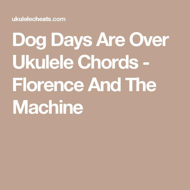 Dog Days Chords Uke