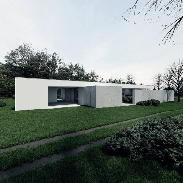 Ultra Minimal and Clean House - CZ House 3