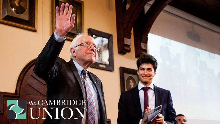 Senator Bernie Sanders   Cambridge Union - Trump's decision to withdraw the USA from the climate change summit was STUPID!