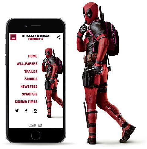The Official Deadpool Live Wallpaper App