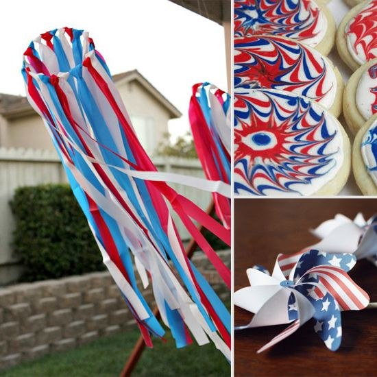 Patriotic Streamers by multiplesandmore: Great for the 4th of July too! Kids