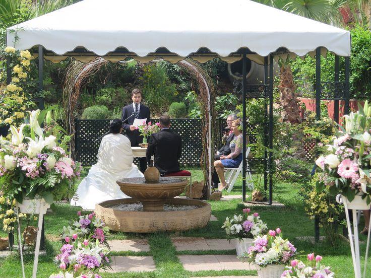 Ceremonia Civil en Restaurante Boabdil #boabdil #bodas #ceremoniacivil #mayo #primavera