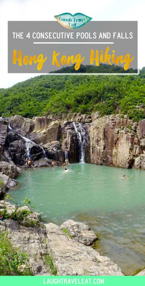 The 4 consecutive pools and falls in Sai Kung, Hong Kong are famed for its gorgeous setting. A popular hiking destination in Sai Kung