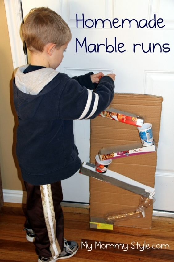 First I need a hiding place for the marbles bc I know my son will stick em up places...but this looks fun. | My Mommy Style