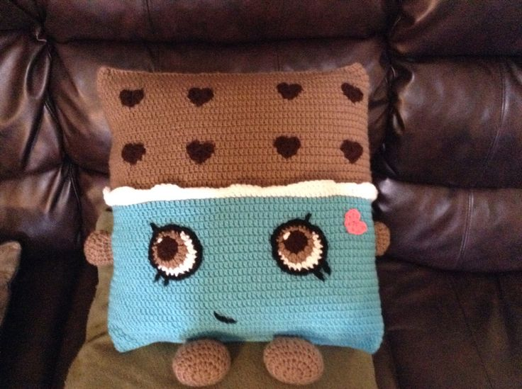Shopkin pillow! Love it!