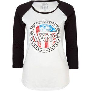 vans baseball tee from tillys - Baseball Shirt Design Ideas