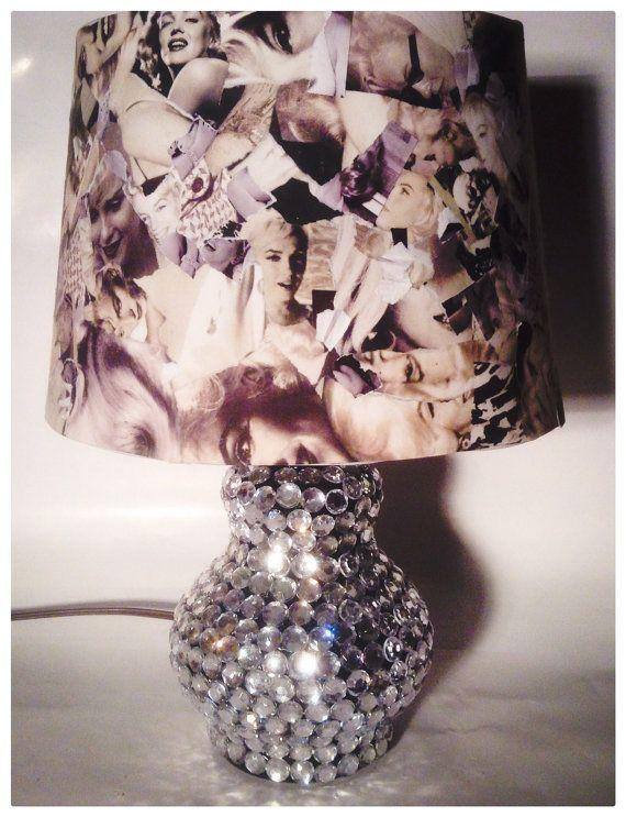 Marilyn Monroe lamp desk lamp reading lamp by funkitupchicago@etsy.com  $65.00