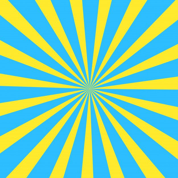 Yellow And Blue Summer Cartoon Sunlight Background Colorful